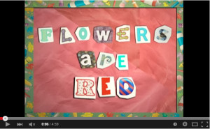 flowers are red