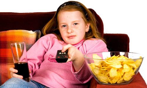 gojaznost kod dece i gledanje televizije