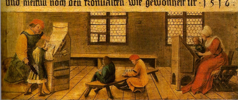 1516 Maître_d'école-Bâle_1516