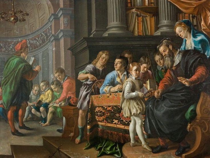 1625 Frantz Cleyn - A Boys' school